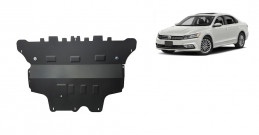 Steel sump guard for VW Passat Alltrack - automatic gearbox