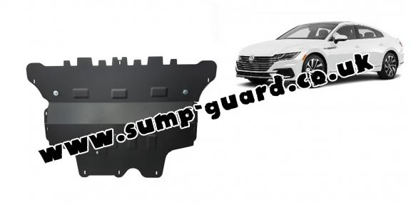 Steel sump guard for VW Arteon - automatic gearbox
