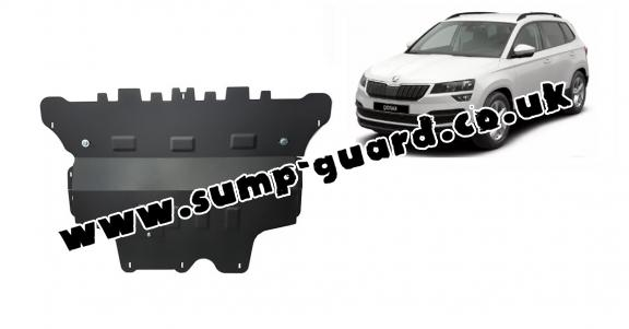 Steel sump guard for Skoda Karoq - automatic gearbox