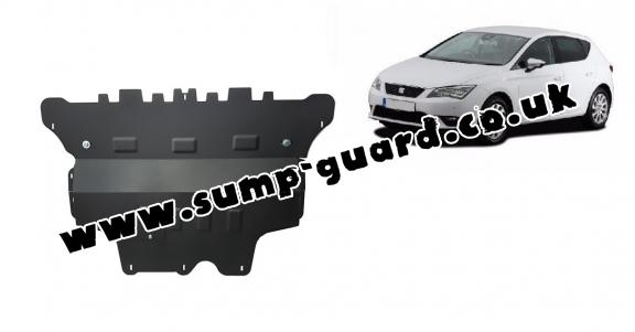 Steel sump guard for Seat Leon - Automatic gearbox