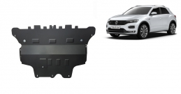 Steel sump guard for Volkswagen T-Roc - automatic gearbox