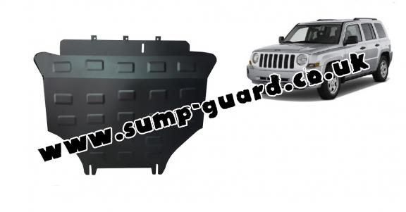 Steel sump guard for Jeep Patriot