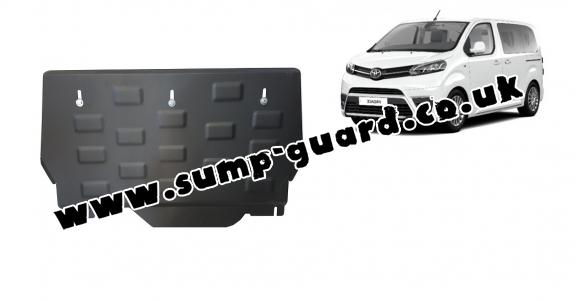 Steel sump guard for  Toyota Proace Verso