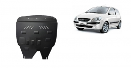Steel sump guard for Hyundai Getz