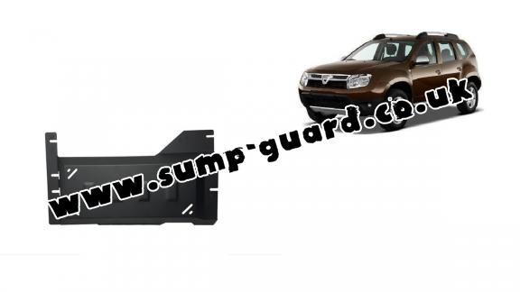 Steel DPF guard  for Dacia Duster