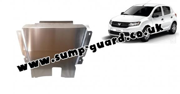 Aluminum sump guard for DACIA  SANDERO 2