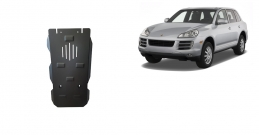 Steel automatic gearbox guard for Porsche Cayenne