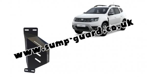 Steel EGR valve guard  for Dacia Duster