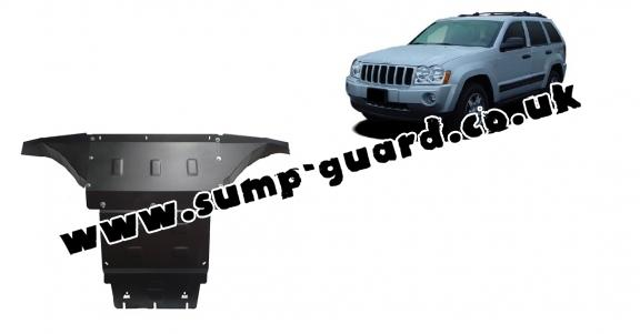 Steel sump guard for Jeep Grand Cherokee