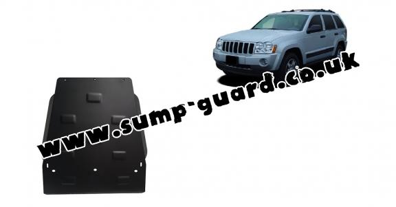 Steel gearbox guard for Jeep Grand Cherokee