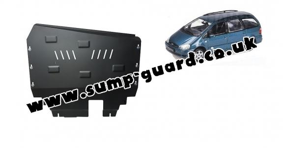 Steel sump guard for Ford Galaxy 1