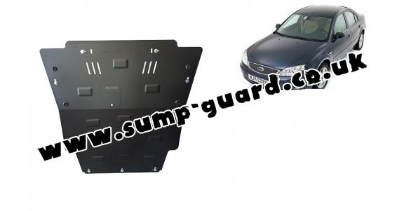 Steel sump guard for Ford Mondeo 3