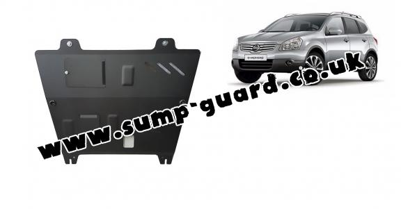 Steel sump guard for Nissan Qashqai