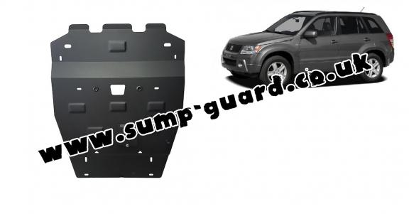Steel sump guard for Suzuki Grand Vitara 2
