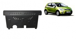 Steel sump guard for the protection of the engine and the gearbox for Hyundai i 20
