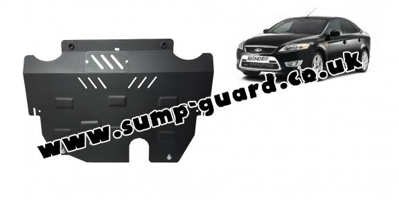 Steel sump guard for Ford Mondeo 4