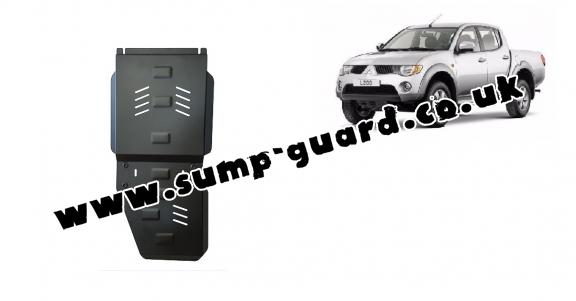 Steel gearbox  guard for Mitsubishi L 200