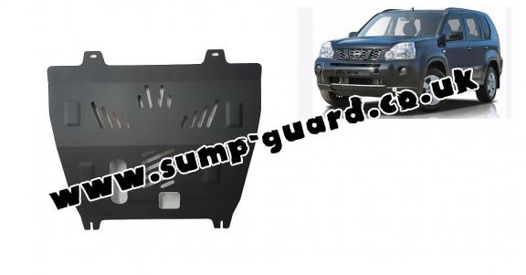 Steel sump guard for Nissan X-Trail T31