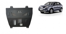 Steel sump guard for Renault Koleos