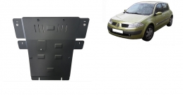 Steel sump guard for Renault Megane 2