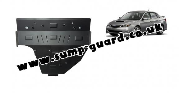 Steel sump guard for Subaru Impreza diesel