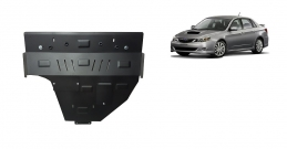 Steel sump guard for Subaru Impreza petrol