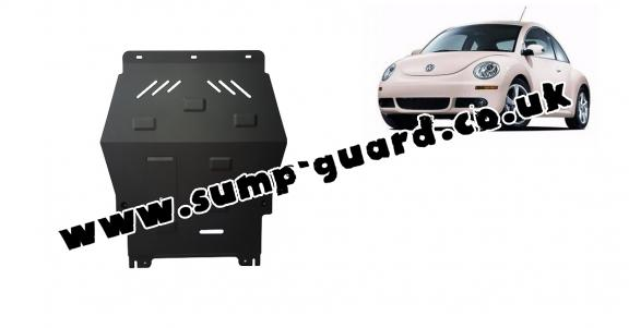 Steel sump guard for Volkswagen New Beetle