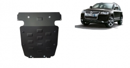Steel sump guard for Volkswagen Touareg 7L