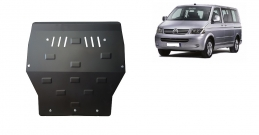 Steel sump guard for Volkswagen T5 Caravelle