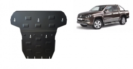 Steel gearbox and differential guard for Volkswagen Amarok
