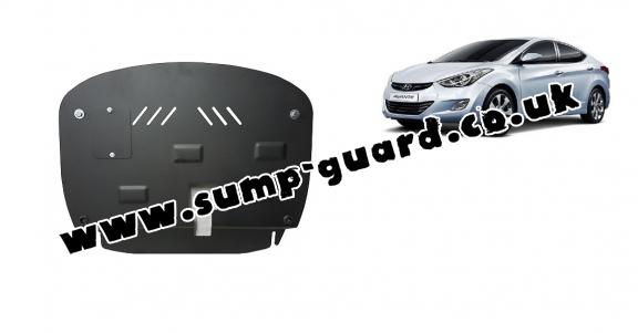 Steel sump guard for Hyundai Elantra 2