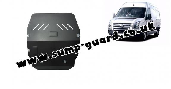 Steel sump guard for Volkswagen Crafter