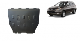 Steel sump guard for Hyundai Veracruz