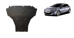 Steel sump guard for the protection of the engine and the gearbox for Renault Megane 3