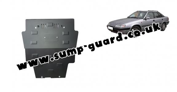 Steel sump guard for Daewoo Espero