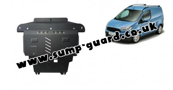 Steel sump guard for Ford Transit Courier