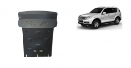 Steel sump guard for SsangYong Rexton 2