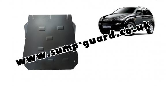 Steel gearbox guard for SsangYong Kyron