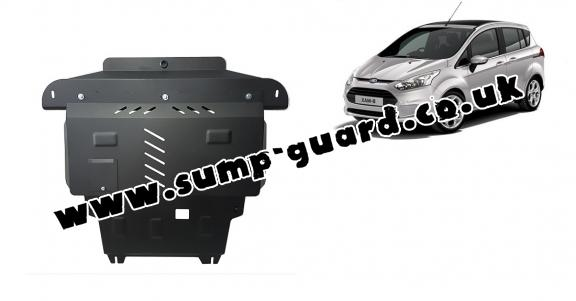 Steel sump guard for Ford B-Max