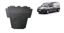 Steel sump guard for Renault Kangoo