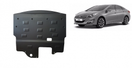 Steel sump guard for the protection of the engine and the gearbox for Hyundai i40