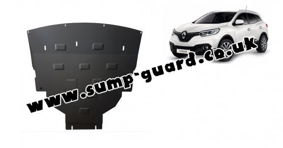 Steel sump guard for Renault Kadjar