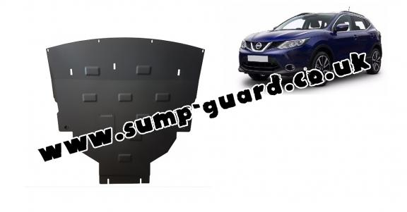 Steel sump guard for Nissan Qashqai J11