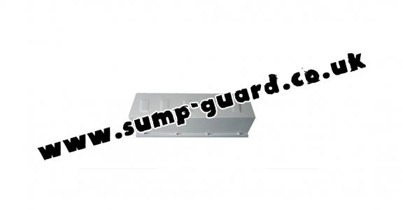 Steel front bumper guard for Dacia Duster