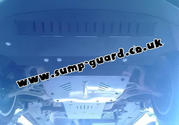 Steel sump guard for Audi Q7