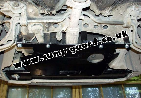 Steel sump guard for Fiat Punto