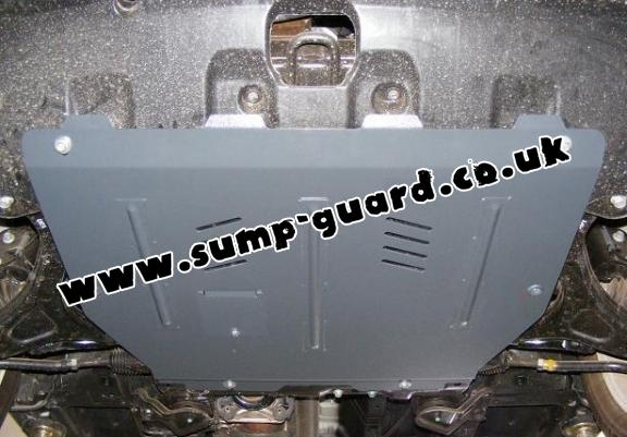 Steel sump guard for Hyundai ix55