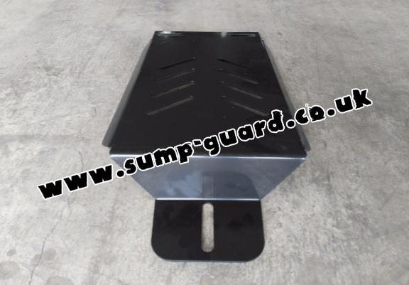 Steel differential guard for Dacia Duster