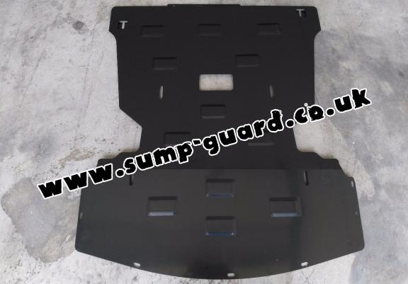 Steel sump guard for BMW Seria 3 E90/91