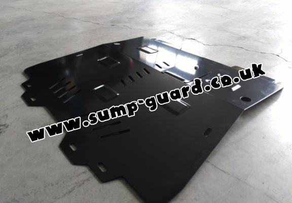Steel sump guard for Chevrolet Cruze